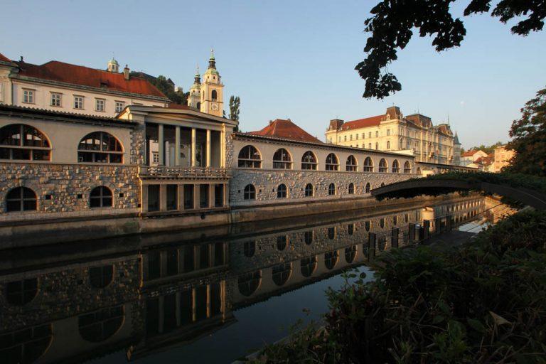 Ljubljana River Front
